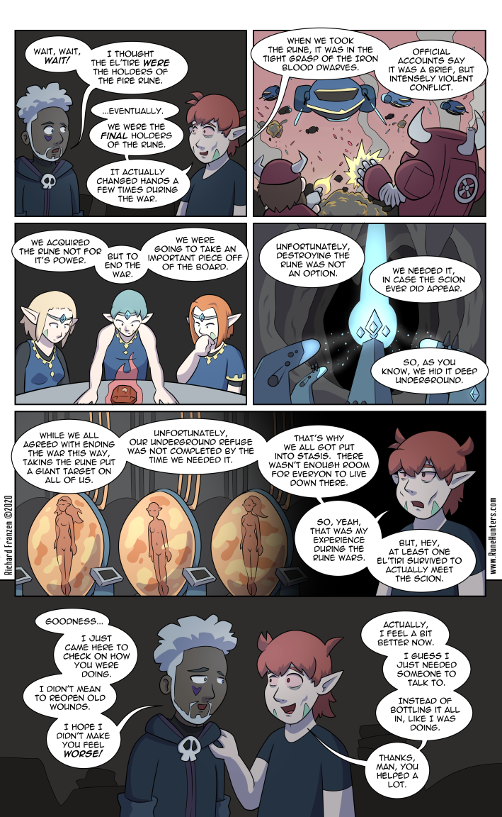 Rune Hunters – Chapter 23 Page 5